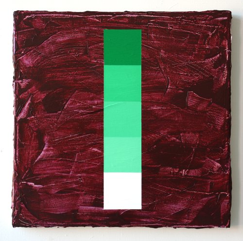 2018 Obstacle and Void: Green with Naphthamide Maroon