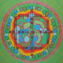 2011 My Mandala, For Hapiness