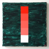 2018 Obstacle and Void: Red with Turquoise